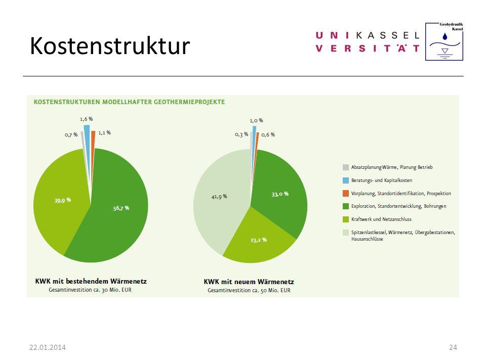Kostenstruktur 22.01.201424