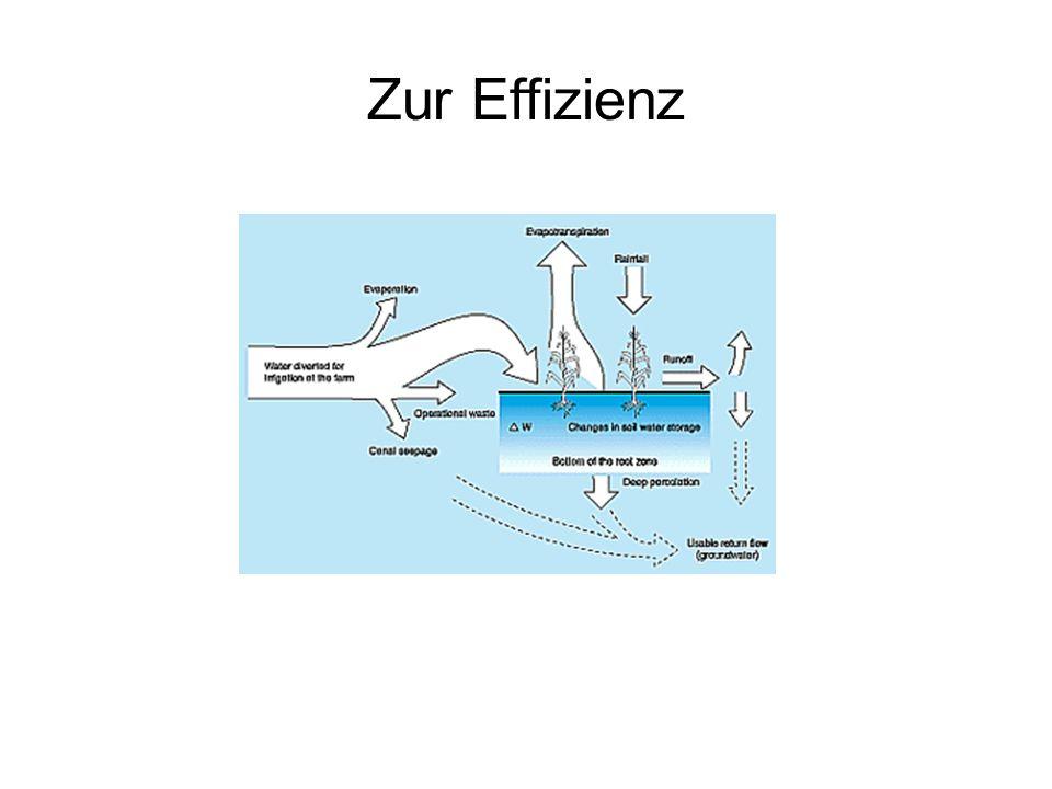 Zur Effizienz