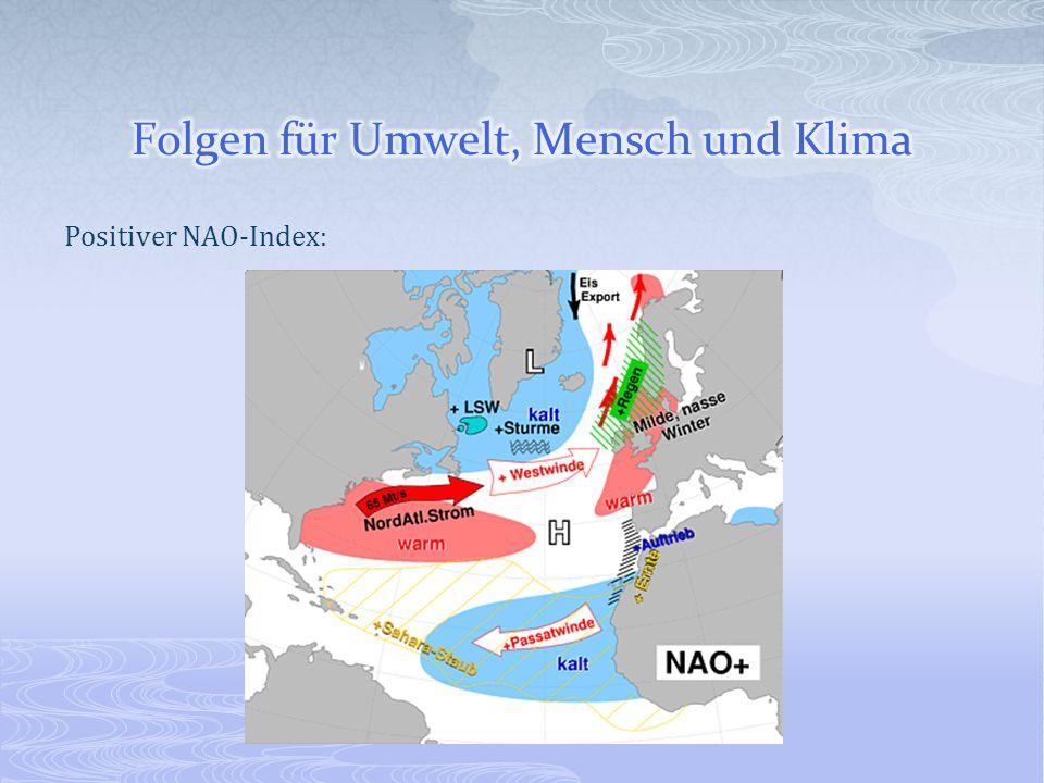 Positiver NAO-Index: