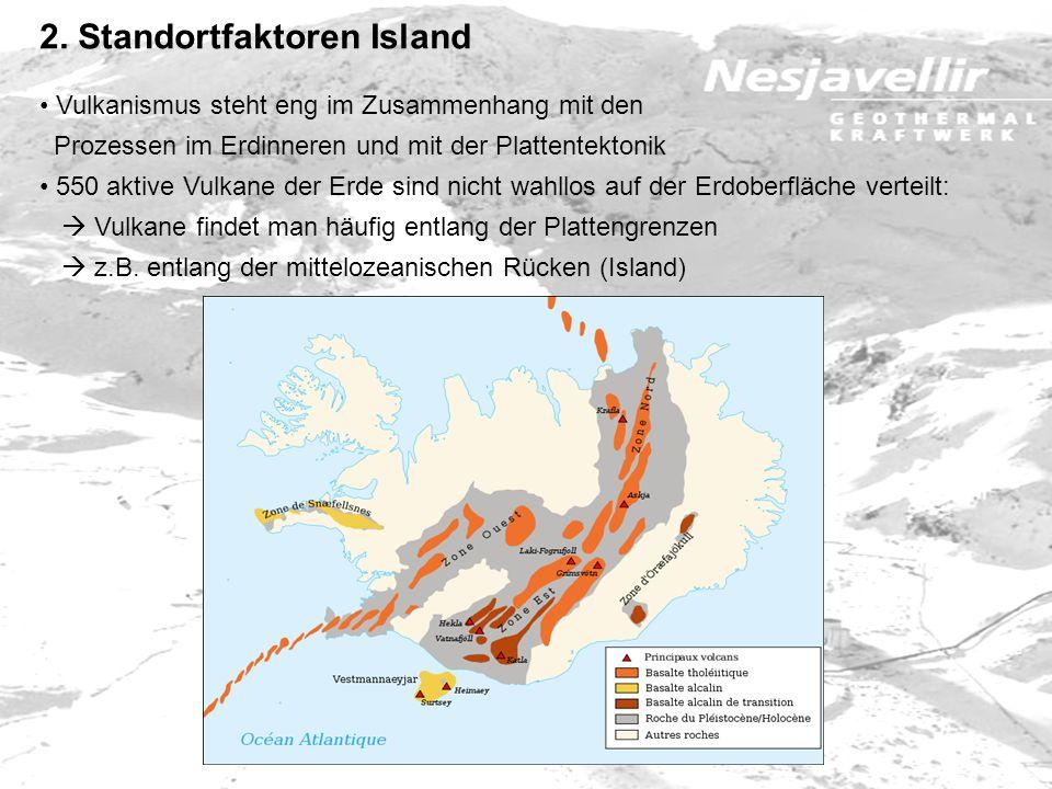 Vulkanismus steht eng im Zusammenhang mit den Prozessen im Erdinneren und mit der Plattentektonik 550 aktive Vulkane der Erde sind nicht wahllos auf d