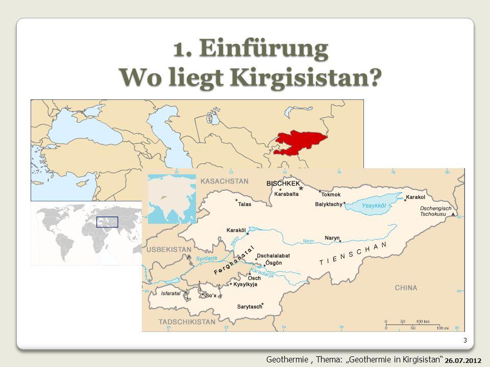 24 26.07.2012 Geothermie, Thema: Geothermie in Kirgisistan Die Suchmodelle der Geothermie: Hot-Dry-Rock-Verfahren