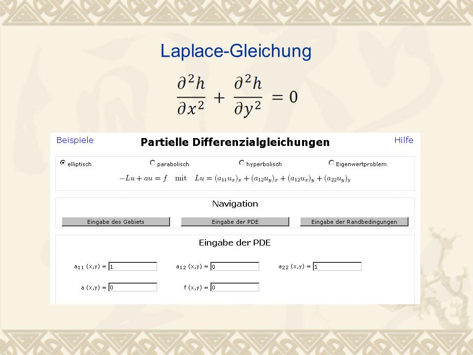 Laplace-Gleichung