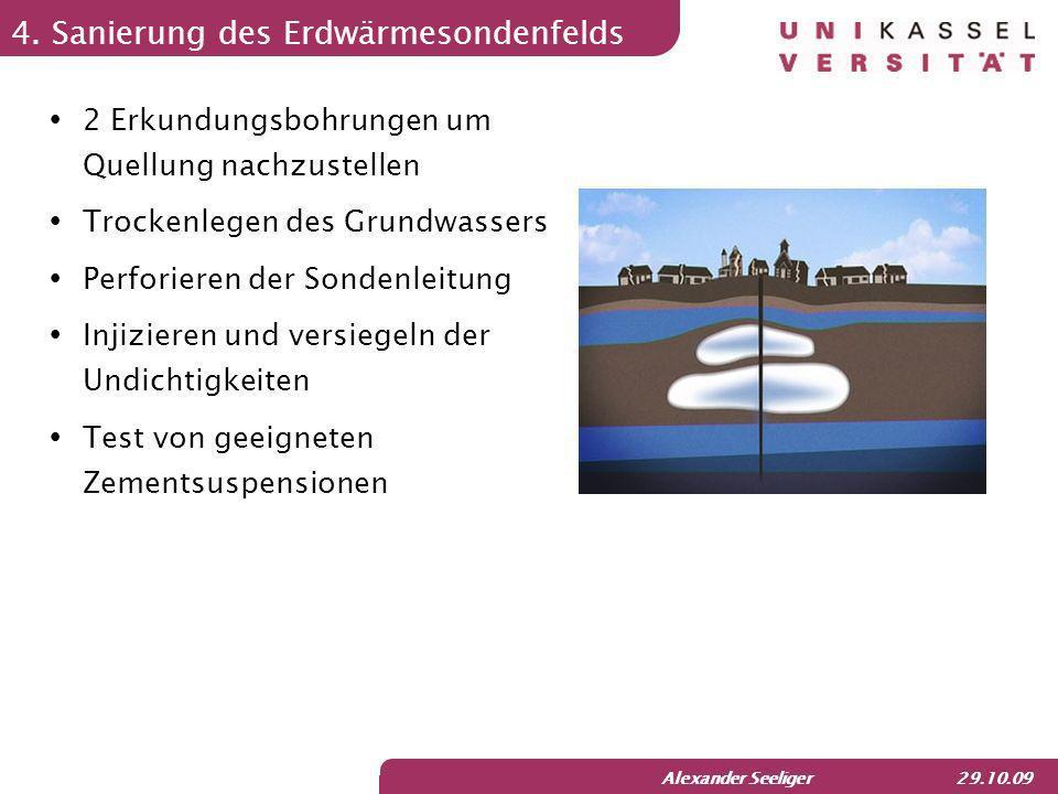Alexander Seeliger 29.10.09 Reaktion und Ausblick seit Juni 2009 sind auf Internetseite des baden- württembergische Landesamtes für Geologie, Rohstoffe und Bergbau geologische Daten von BW zugänglich