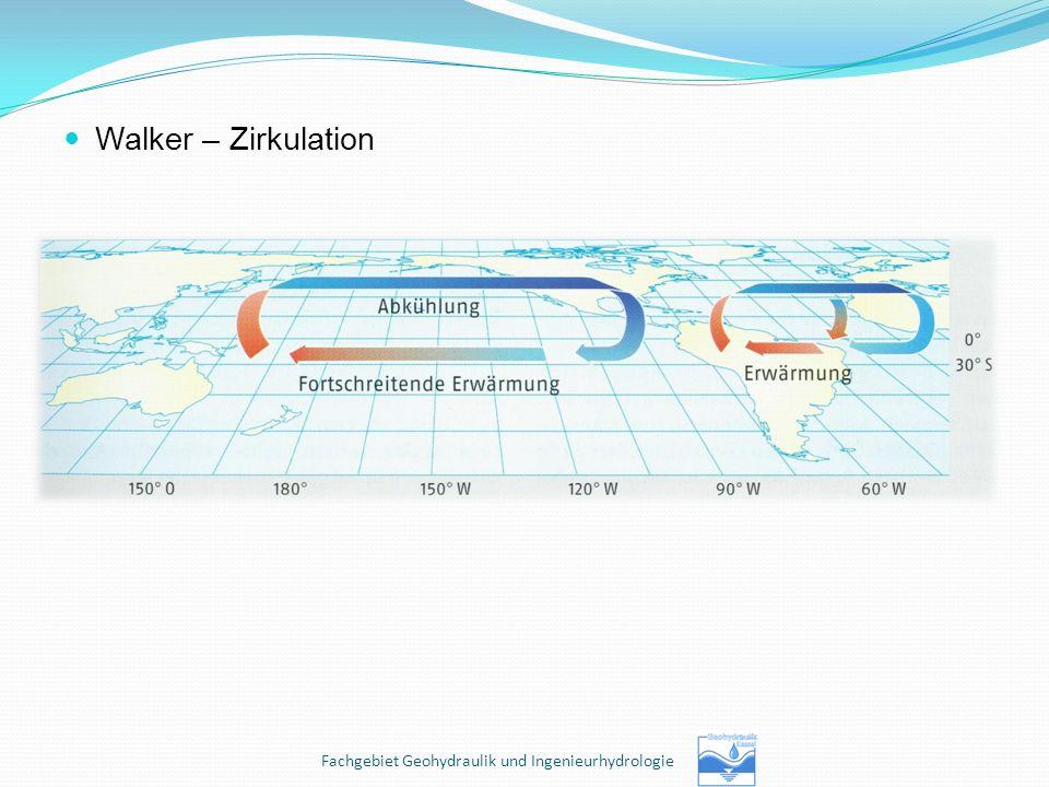 Walker – Zirkulation Fachgebiet Geohydraulik und Ingenieurhydrologie