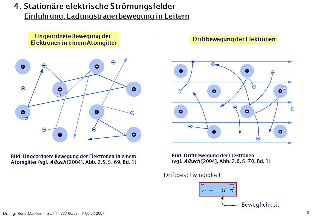 Dr.-Ing.René Marklein - GET I - WS 06/07 - V 06.02.2007 7 4.
