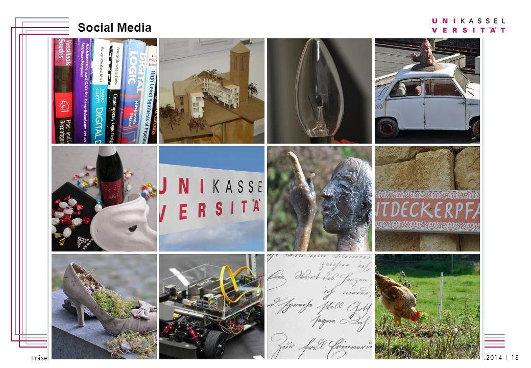 Präsentation 18.2.2013 Social Media 23.01.2014 | 13
