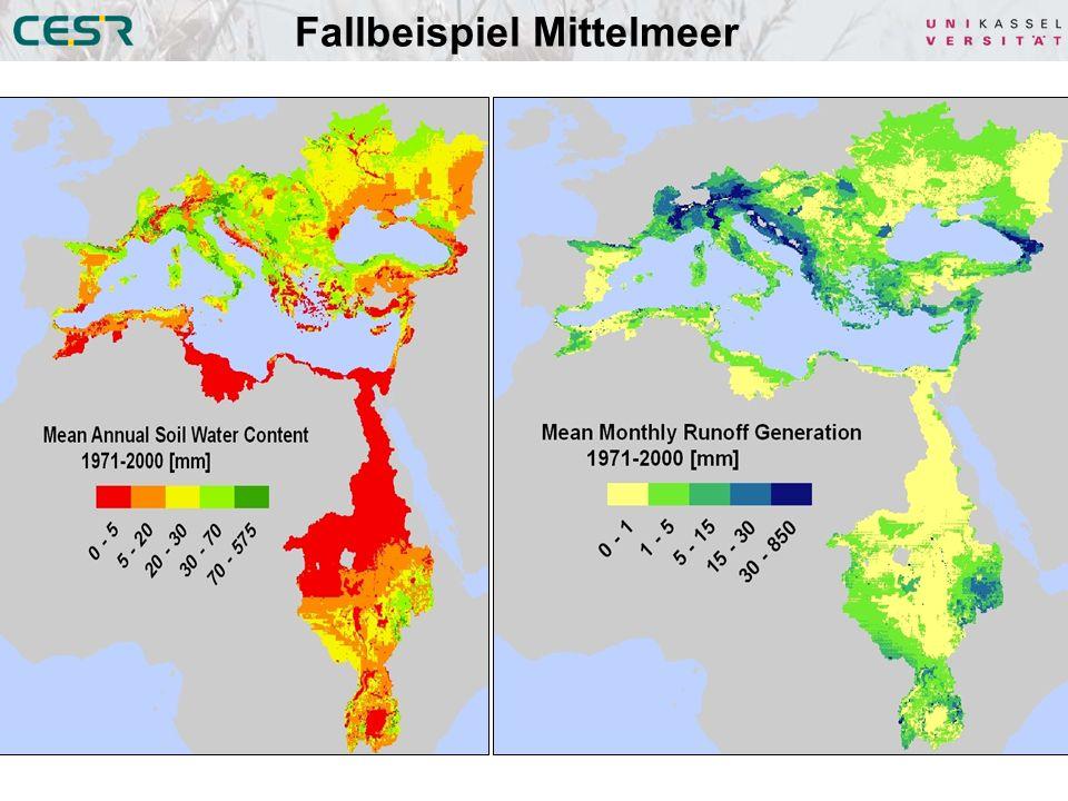 Fallbeispiel Mittelmeer Abflussbildung (GW + HOF)