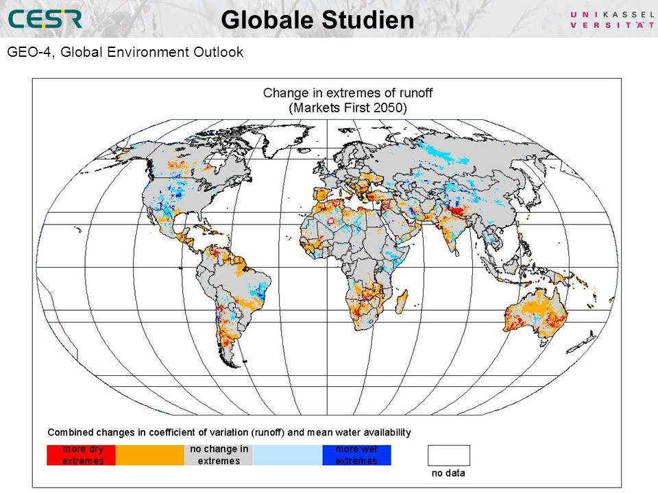 Globale Studien GEO-4, Global Environment Outlook