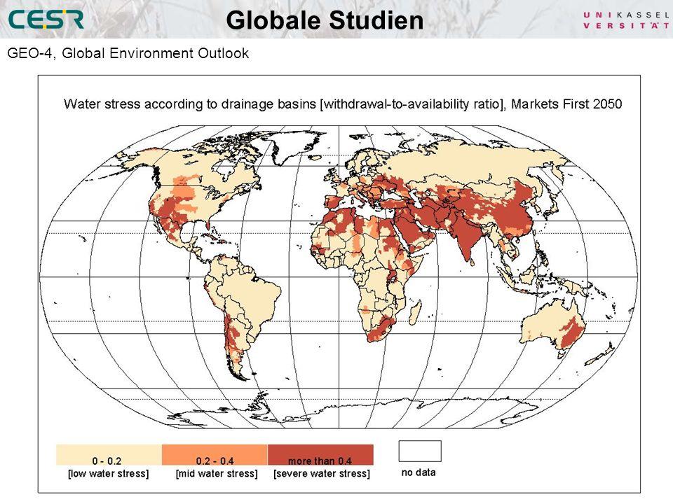 Globale Studien GEO-4, Global Environment Outlook