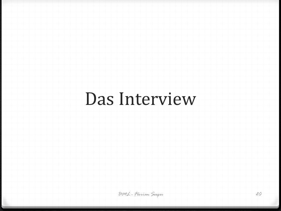 Das Interview UML - Florian Seeger20