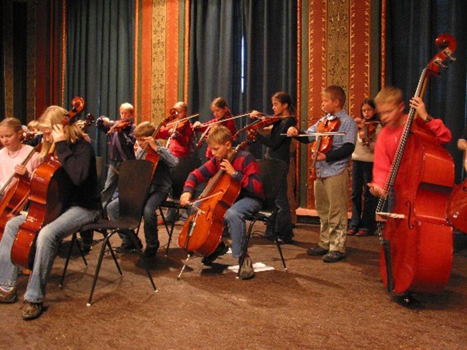 Das Modell Jede Schülerin, jeder Schüler lernt im schulischen Musikunterricht ein Instrument.