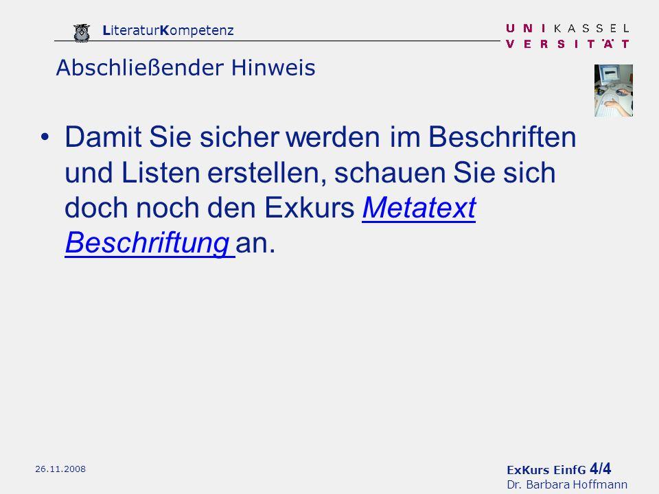 ExKurs EinfG 4/4 Dr.