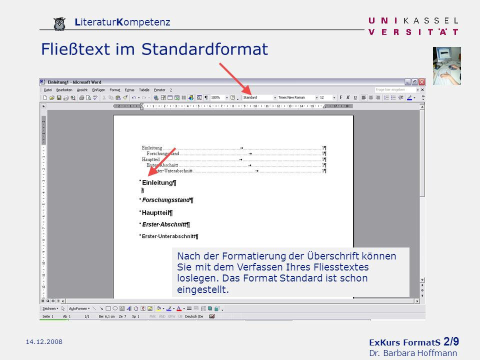 ExKurs FormatS 2/9 Dr.