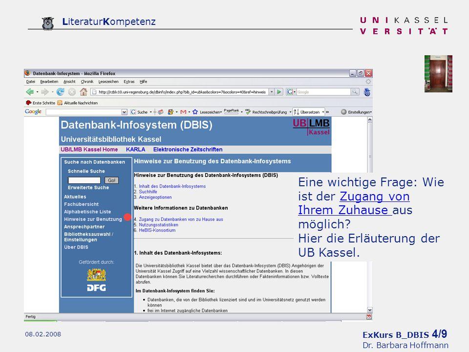 ExKurs B_DBIS 5/9 Dr.