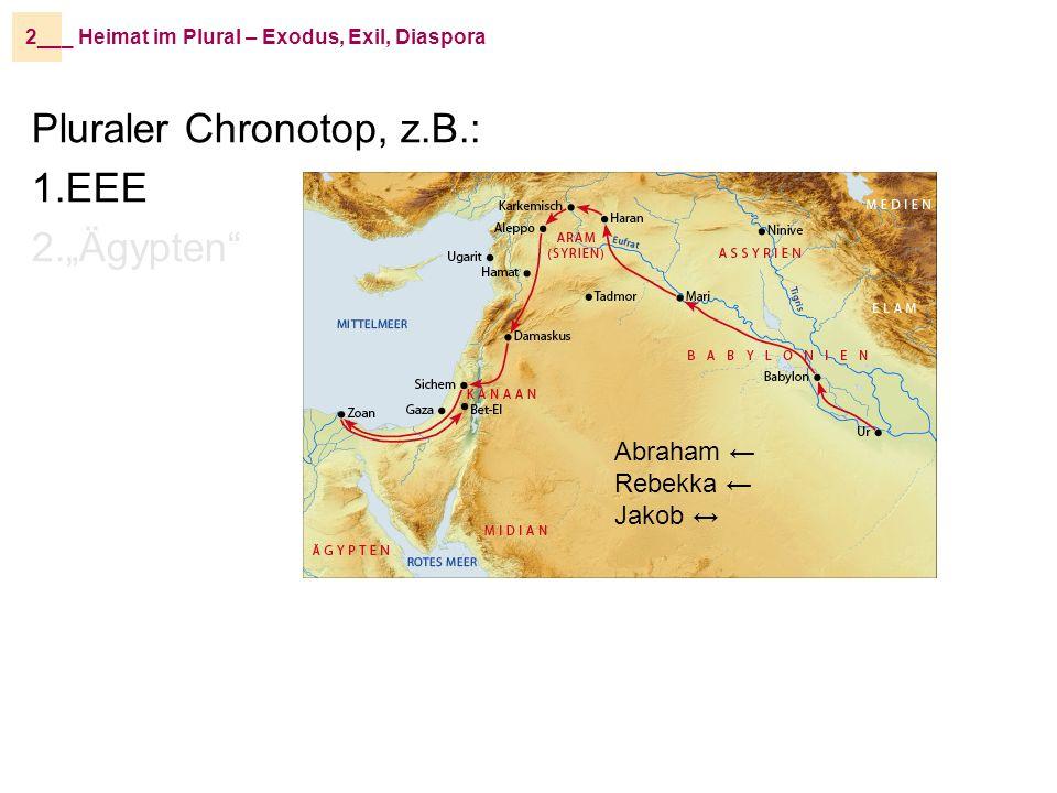 »Das Volk Israel und die Priester und die Leviten haben sich nicht abgesondert von den Völkern der Länder und den abscheulichen Bräuchen der Kanaanäerinnen und Kanaanäer, der Hetiterinnen und Hetiter, der Perisiterinnen und Perisiter, der Jebusiterinnen und Jebusiter, der Ammoniterinnen und Ammoniter, der Moabiterinnen und Moabiter, der Ägypterinnen und Ägypter und der Amoriterinnen und Amoriter.