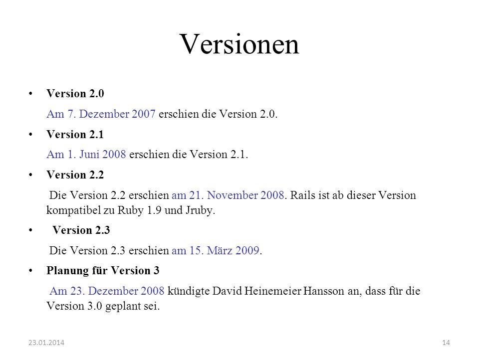 Versionen Version 2.0 Am 7. Dezember 2007 erschien die Version 2.0. Version 2.1 Am 1. Juni 2008 erschien die Version 2.1. Version 2.2 Die Version 2.2