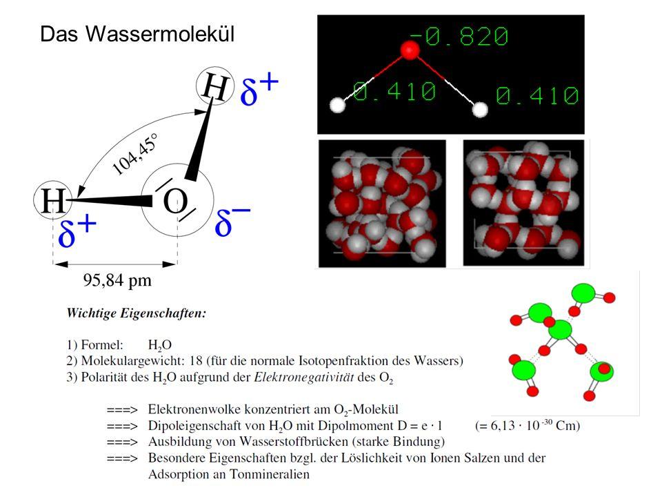 Das Wassermolekül