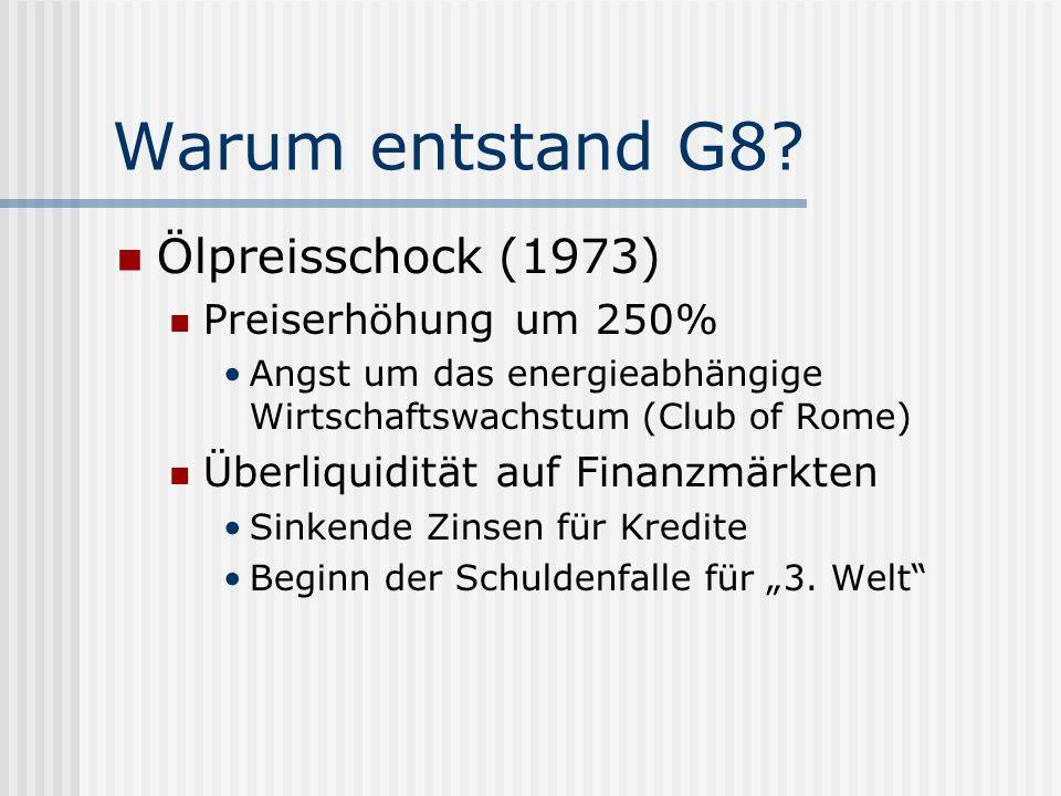 G8 als Zentrum imperialer Global Governance G8 Weltbank IWF Nato OECD UNO Pariser Club BIZWTO