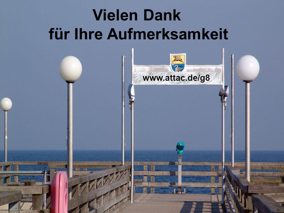 Vielen Dank für Ihre Aufmerksamkeit www.attac.de/g8