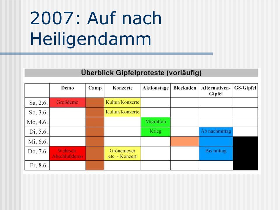 2007: Auf nach Heiligendamm