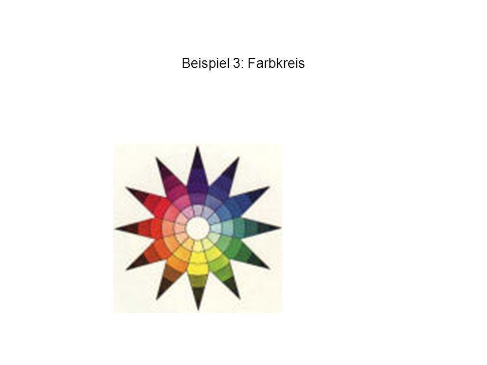 Beispiel 3: Farbkreis