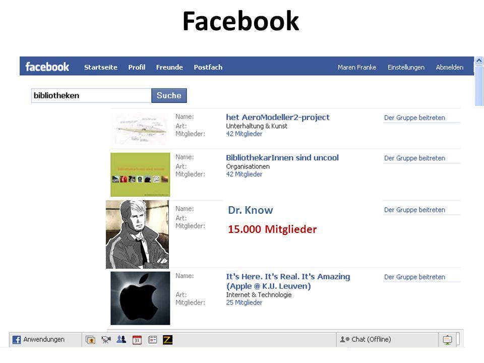 15.000 Mitglieder Facebook