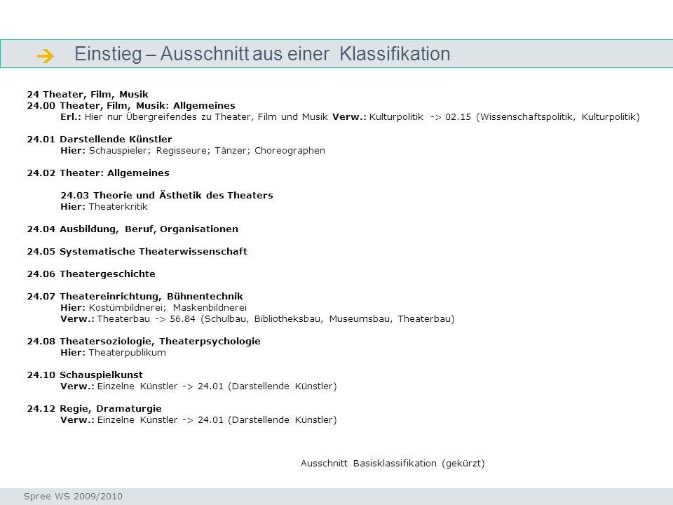 Funktionen von Klassifikationen: Warum wird geordnet.