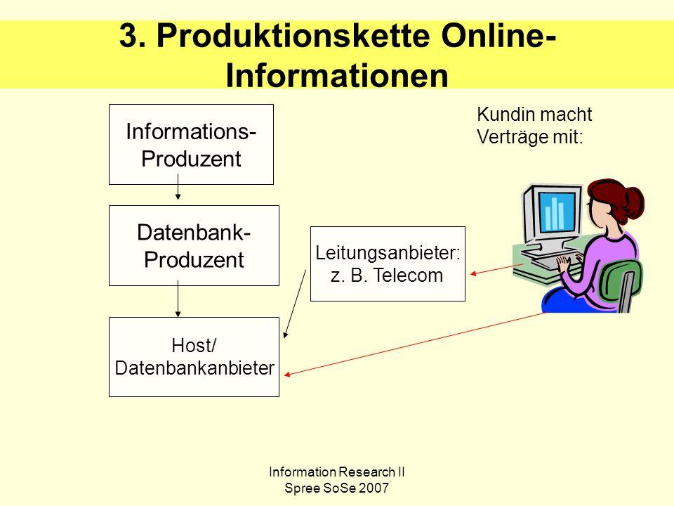Information Research II Spree SoSe 2007 4.