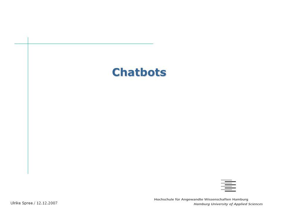 Gliederung Gliederung Chatbots – Was ist das.Anwendungsfälle.