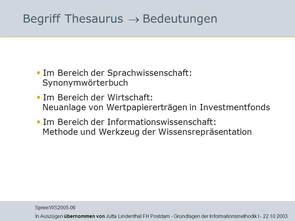 Begriff Thesaurus Bedeutungen Im Bereich der Sprachwissenschaft: Synonymwörterbuch Im Bereich der Wirtschaft: Neuanlage von Wertpapiererträgen in Inve