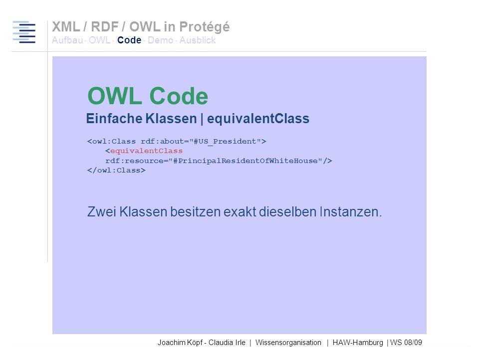 Joachim Köpf - Claudia Irle | Wissensorganisation | HAW-Hamburg | WS 08/09 Einfache Klassen | Referenzierung auf Klasse via ENTITY Im Header: <!DOCTYP