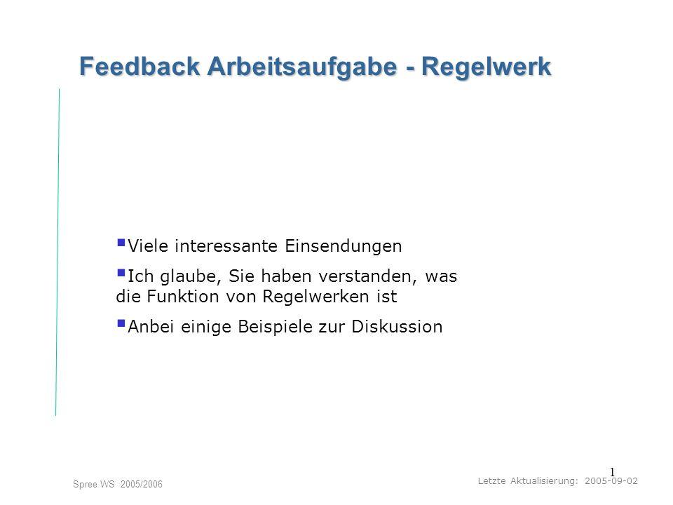 2 Ein Vorschlag Alphabete Seminar I-Prax: Inhaltserschließung visueller Medien, 5.10.2004 Spree WS 2005/2006 Welche Informationen sollen erfaßt werden.