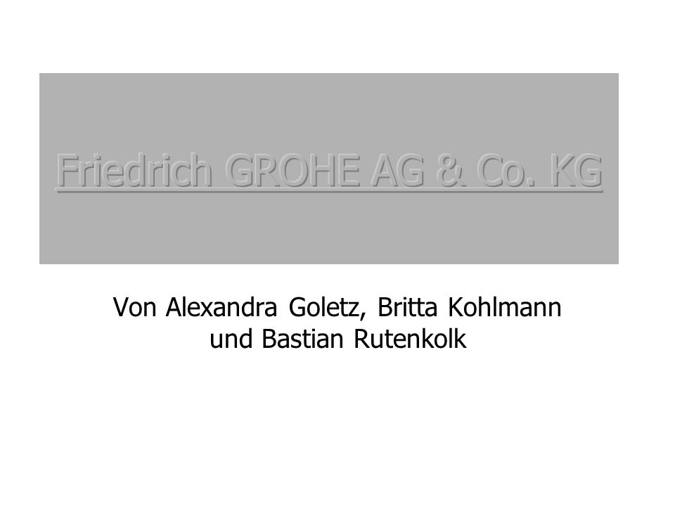 Von Alexandra Goletz, Britta Kohlmann und Bastian Rutenkolk