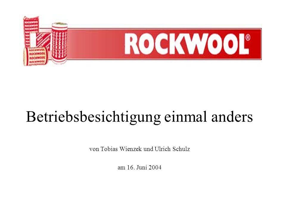 Betriebsbesichtigung einmal anders von Tobias Wienzek und Ulrich Schulz am 16. Juni 2004