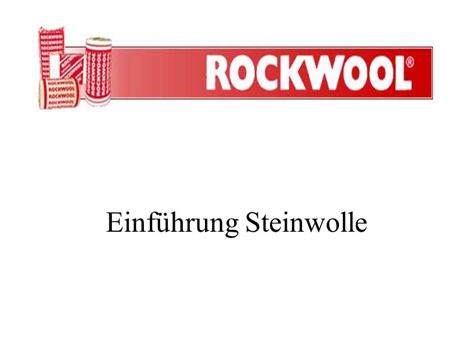 Einführung Steinwolle