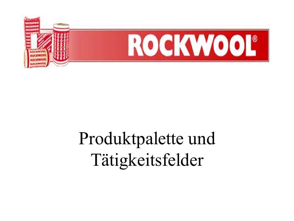 Produktpalette und Tätigkeitsfelder