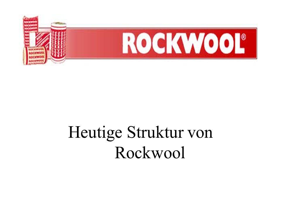 Heutige Struktur von Rockwool