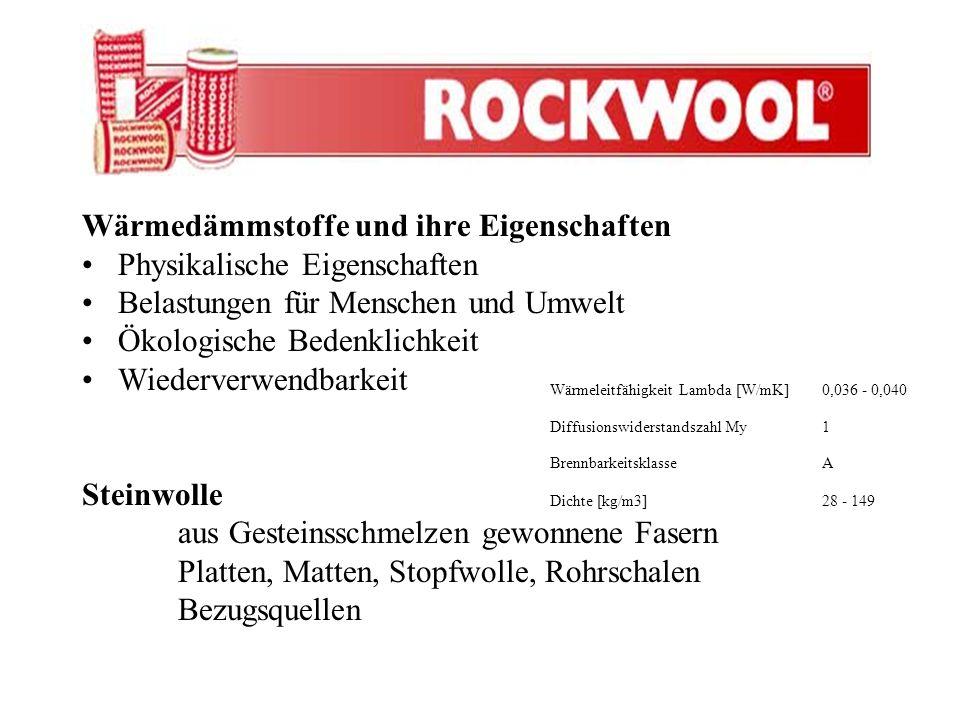 Bodendämmung –Floorrock (Universelle Dämmplatte) –Floorrock SE (Trittschalldämmplatte) –Floorrock GP (Hochdichte Floorrock SE)