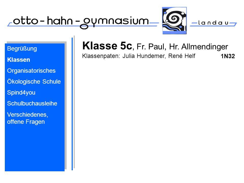 Begrüßung Klassen Organisatorisches Ökologische Schule Spind4you Schulbuchausleihe Verschiedenes, offene Fragen Begrüßung Klassen Organisatorisches Ök