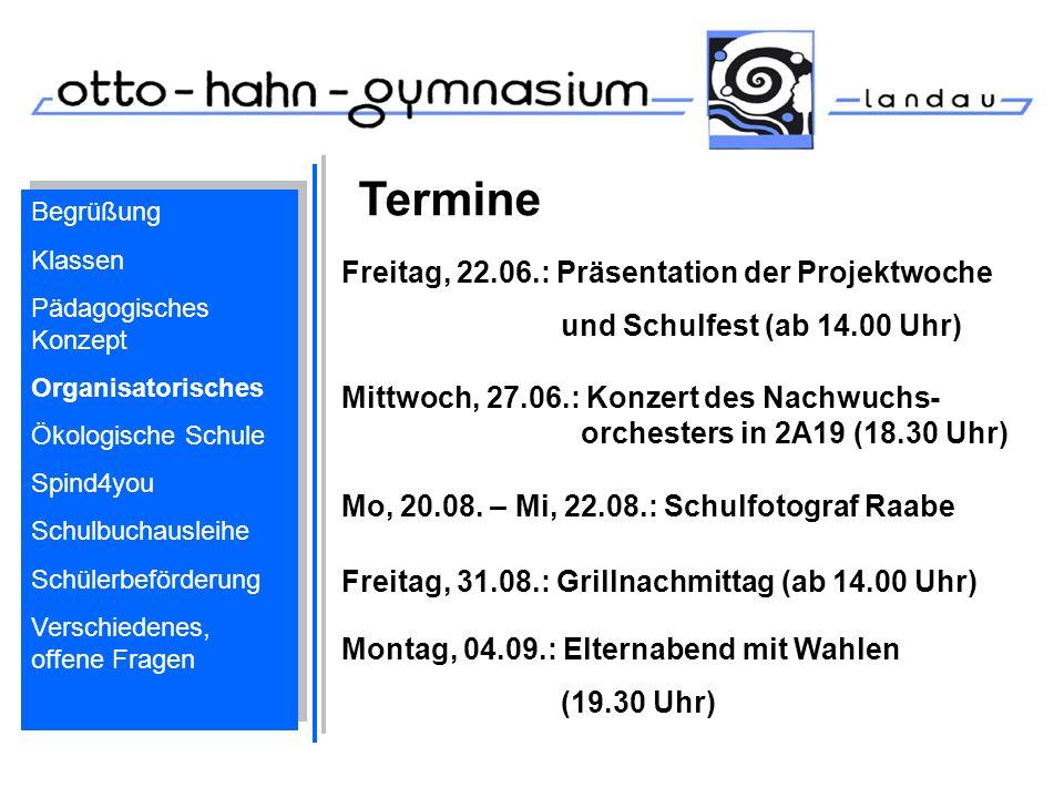 Termine Freitag, 31.08.: Grillnachmittag (ab 14.00 Uhr) Montag, 04.09.: Elternabend mit Wahlen (19.30 Uhr) Mo, 20.08. – Mi, 22.08.: Schulfotograf Raab