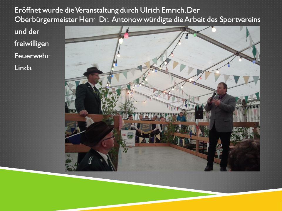 Eröffnet wurde die Veranstaltung durch Ulrich Emrich.