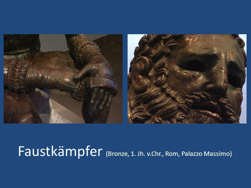 Faustkämpfer (Bronze, 1. Jh. v.Chr., Rom, Palazzo Massimo)