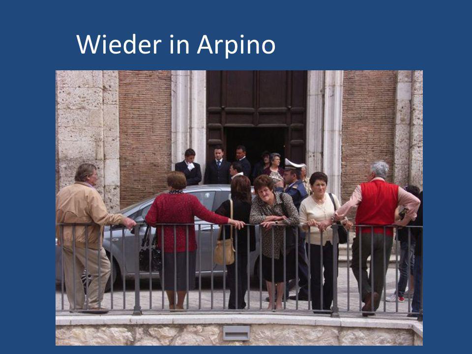 Wieder in Arpino