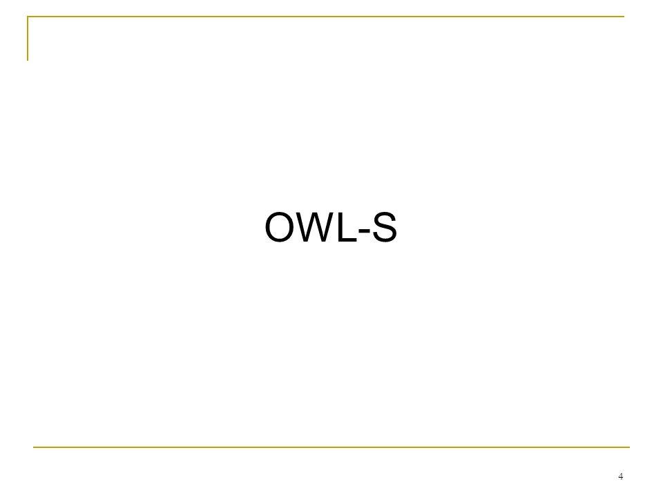 4 OWL-S