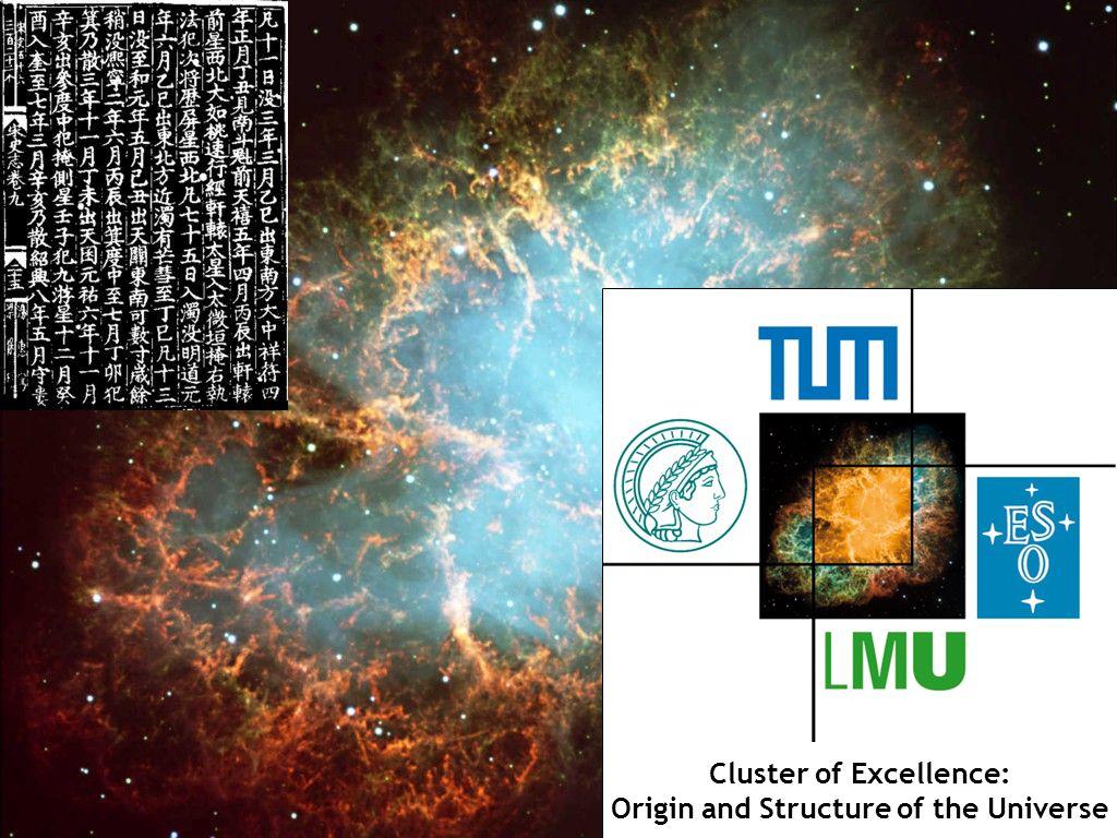 Georg Raffelt, Max-Planck-Institut für Physik, München Physik Modern, 6. Nov 2008, Ludwig-Maximilians-Universität München Crab Nebula Cluster of Excel