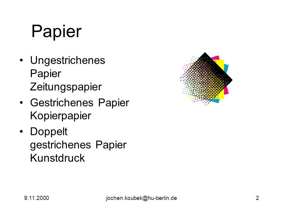 9.11.2000jochen.koubek@hu-berlin.de13 Lab - Farbraum