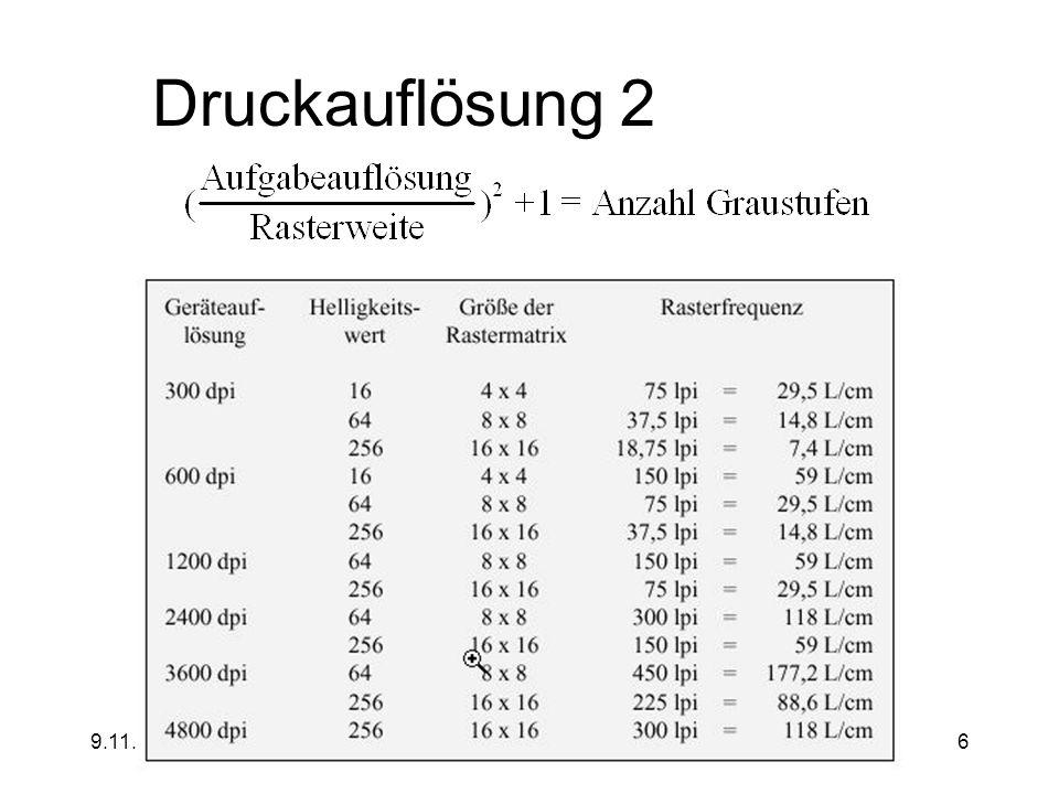 9.11.2000jochen.koubek@hu-berlin.de6 Druckauflösung 2