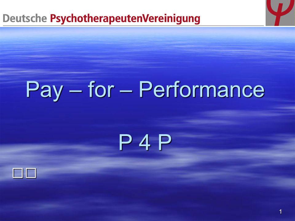 2 Pay-for-Performance (P4P) Internationaler Trend zur Performancemessung Internationaler Trend zur Performancemessung über Qualitätsindikatoren seit Jahren über Qualitätsindikatoren seit Jahren Hoffnungen Hoffnungen Gezielte Qualitätsverbesserungen über Gezielte Qualitätsverbesserungen über Vergütungsanreize Vergütungsanreize Verteilungsgerechtigkeit: Höhere Vergütung für diejenigen, die qualitätsorientiert arbeiten Verteilungsgerechtigkeit: Höhere Vergütung für diejenigen, die qualitätsorientiert arbeiten Steigerung der Motivation durch finanzielle Anreize Steigerung der Motivation durch finanzielle Anreize Transparenz – durch Angabepflicht Transparenz – durch Angabepflicht