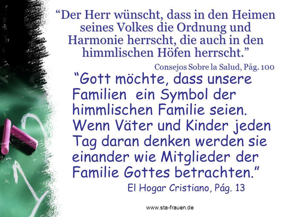 Gott möchte, dass unsere Familien ein Symbol der himmlischen Familie seien. Wenn Väter und Kinder jeden Tag daran denken werden sie einander wie Mitgl