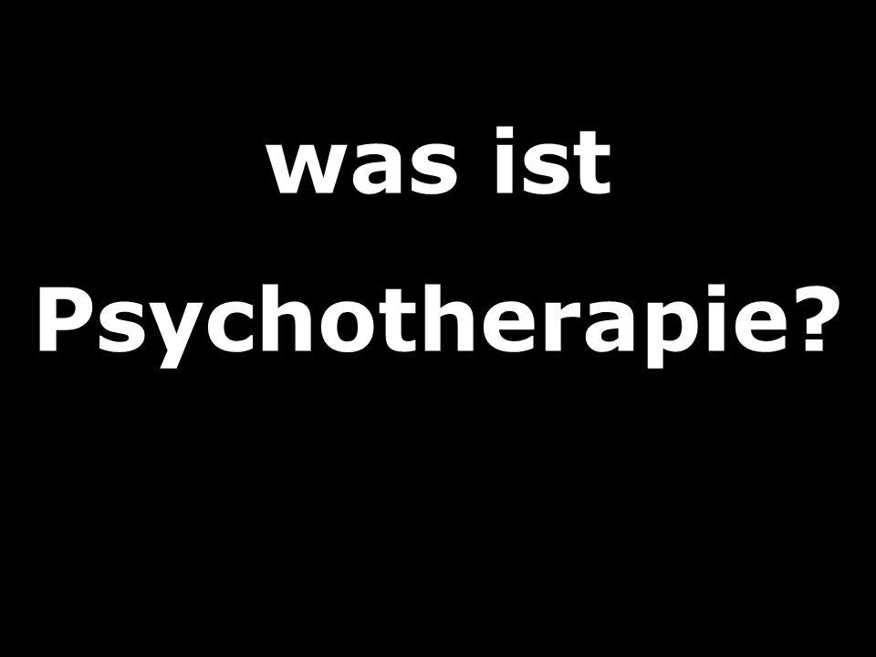 was ist Psychotherapie?